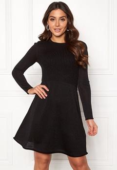 ONLY Darling L/S Dress Black Bubbleroom.se