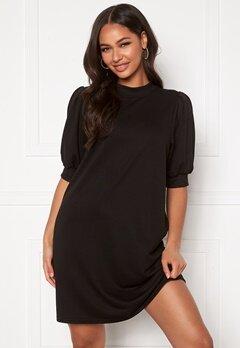ONLY Dea 2/4 Sweat Dress Black Bubbleroom.se