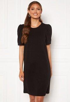 ONLY Dianna S/S O-Neck Dress Black Bubbleroom.se