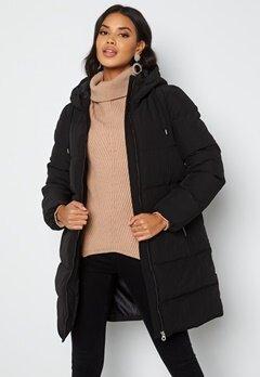 ONLY Dolly Long Puffer Coat Black bubbleroom.se