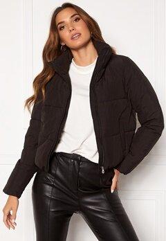 ONLY Dolly Short Puffer Jacket Black Bubbleroom.se