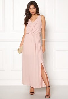 ONLY Donna SL Long Dress Rose Smoke Bubbleroom.se