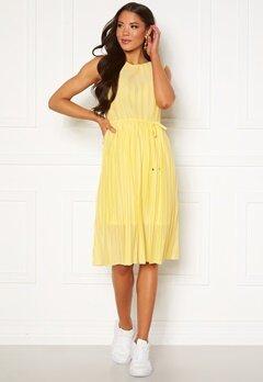 ONLY Elema S/L Dress Dusky Citron Bubbleroom.se