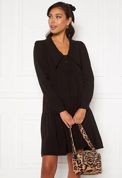 ONLY Elie L/S Dress JRS Black Bubbleroom.se