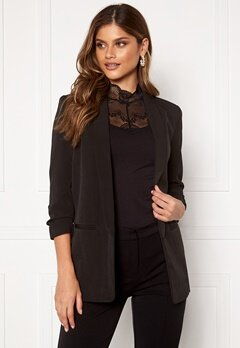 ONLY Elly 3/4 Life Blazer Black Bubbleroom.se