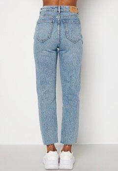 ONLY Emily Life HW Jeans Light Medium Blue De Bubbleroom.se