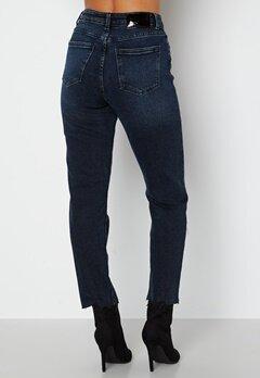 ONLY Emily Life HW ST Crop Ankle Jeans Blue Black Denim bubbleroom.se