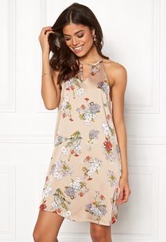 ONLY Eva S/L Dress Feather Gray Bubbleroom.se