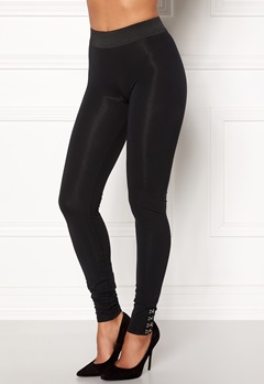 ONLY Fabinna NW Ankel Leggins Black Bubbleroom.se
