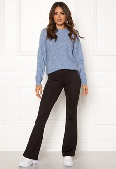 ONLY Fever Flaired Pants Black Bubbleroom.se