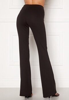 ONLY Fever Stretch Flaired Pants Black Bubbleroom.se