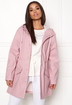 ONLY Fine Raincoat Pink Nectar Bubbleroom.se