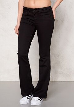 ONLY Flared Derry Jeans Black Bubbleroom.no