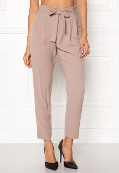 ONLY Florence Belt Ankle Pant Fawn Bubbleroom.se