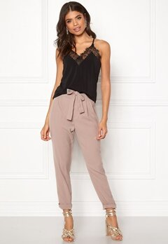 ONLY Florence Belt Ankle Pant Fawn Bubbleroom.fi