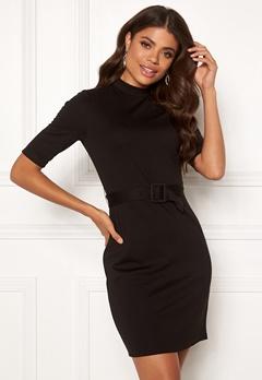 ONLY Freja Belted Dress Black Bubbleroom.se