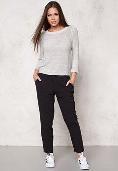 ONLY Geena L/S Pullover Light Grey Melange Bubbleroom.se