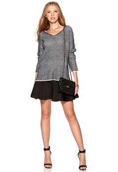 ONLY Giselle L/S Pullover Light Grey Melange Bubbleroom.se