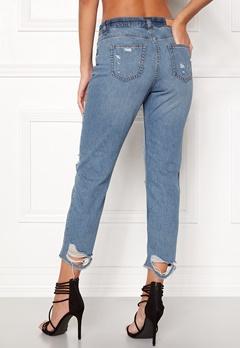 ONLY Gurli Denim Jeans Medium Blue Denim Bubbleroom.se