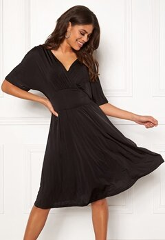 ONLY Iris S/S Dress Black Bubbleroom.se