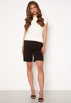 ONLY Ivy Tailored Long Shorts Black bubbleroom.se