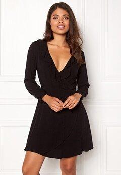 ONLY Jenny 4/5 Short Dress Box Black Bubbleroom.no