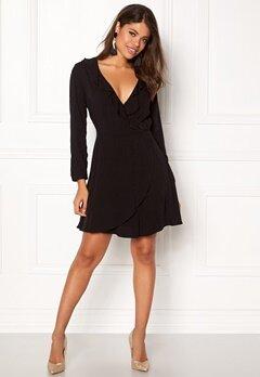 ONLY Jenny 4/5 Short Dress Box Black Bubbleroom.fi