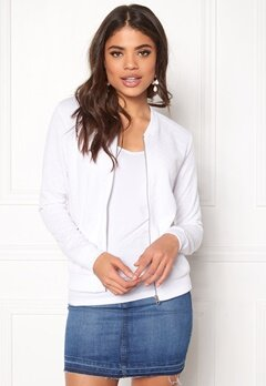ONLY Joyce ls Bomber White Bubbleroom.se