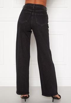 ONLY Juicy HW Black Wide Leg Jeans Black Denim bubbleroom.se