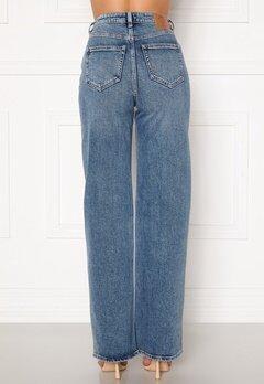 ONLY Juicy HW MB Wide Leg Jeans Medium Blue Denim Bubbleroom.se