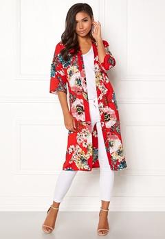 ONLY Kateherine Kimono Flame Scarlet Bubbleroom.se