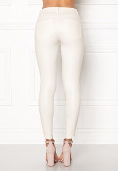 ONLY Kendell Ankle Coated White Bubbleroom.fi