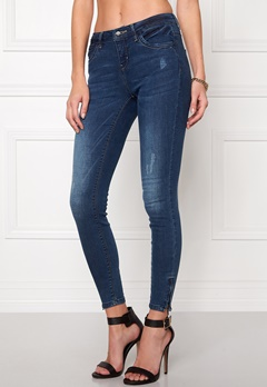 ONLY Kendell Ankle Jeans Dark Blue Denim Bubbleroom.no