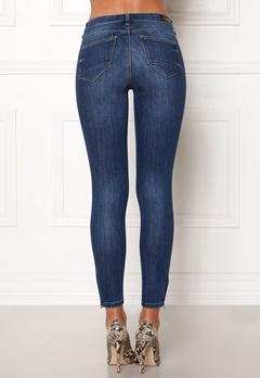 ONLY Kendell Regular Skinny Ankle Jeans Medium Blue Denim Bubbleroom.se