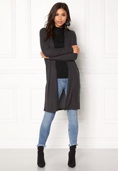 ONLY Kleo LS/ Cardigan Knit Dark Grey Melange Bubbleroom.se