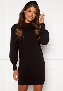 ONLY Labelle Life L/S Dress KNT Black Bubbleroom.se