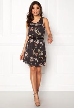 ONLY Lia Lace S/L Knee Dress Phantom Wonderland Bubbleroom.eu