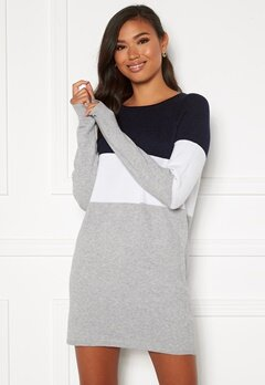 ONLY Lillo L/S Dress Knit Night Sky Bubbleroom.se