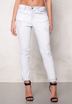 ONLY Lima boyfriend jeans White Bubbleroom.no