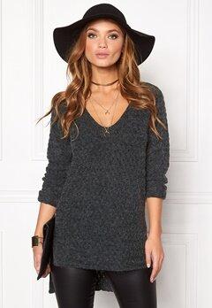 ONLY Lima L/S V-Neck Pullover Scarab Bubbleroom.se