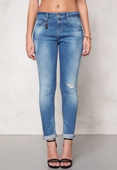 ONLY Lise Antifit Jeans Dark Blue Denim Bubbleroom.fi