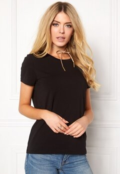 ONLY Live Love Trendy O-Neck Black Bubbleroom.se