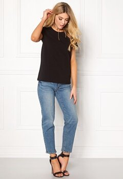 ONLY Live Love Trendy O-Neck Black Bubbleroom.fi