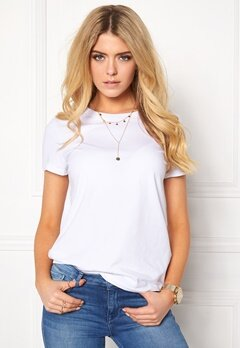 ONLY Live Love Trendy O-Neck White Bubbleroom.fi