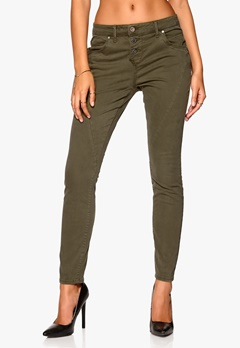 ONLY Lizzy Antifit Pant Deep Lichen Green Bubbleroom.se