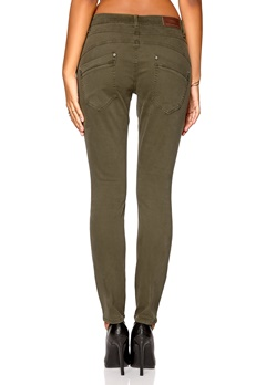 ONLY Lizzy Antifit Pant Deep Lichen Green Bubbleroom.no