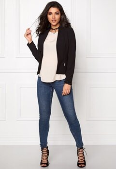 ONLY Madeline blazer jacket Black Bubbleroom.fi