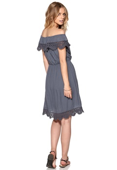 ONLY Maje Off-Shoulder Dress Grisaille Bubbleroom.eu