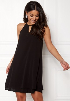 ONLY Mariana Myrina S/L Dress Black Bubbleroom.se