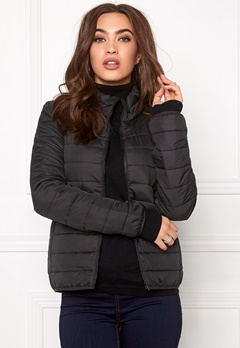 ONLY Marit Quilted Jacket Black Bubbleroom.se